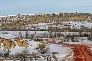 Bullion Creek badlands, Billings County