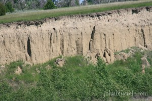Lake Sakakawea till, glacial deposits
