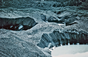 glacial ice, geology, North Dakota