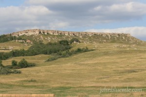 Killdeer Mountains, North Dakota, geology