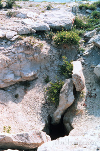 medicine hole, killdeer mountain, geology, North Dakota